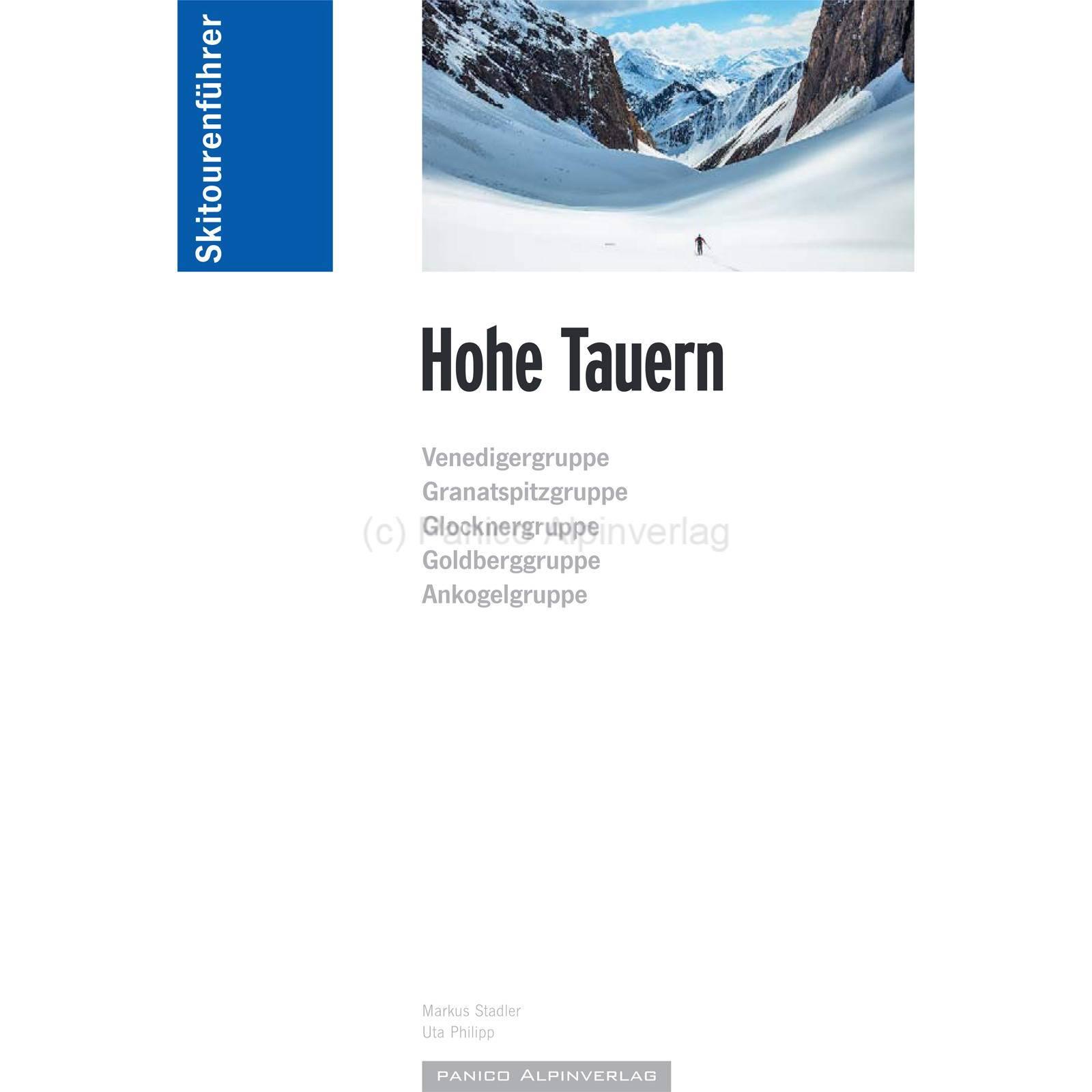 Panico Verlag Hohe Tauern - SkitourenfĂĽhrer