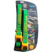 Sea to Summit Tiedown Strap Silicon Cover - 2 x 4,5 m grün-orange