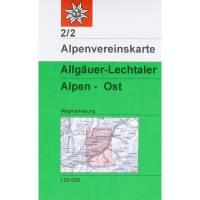 DAV 2/2 Allgäuer - Lechtaler Alpen - Ost
