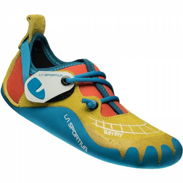 La Sportiva Gripit - Kinder-Kletterschuhe yellow-flame - Bild 3