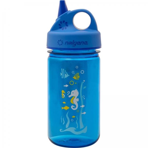 Nalgene Everyday Grip-n-Gulp 0,35 Liter - Trinkflasche Seepferdchen - Bild 7