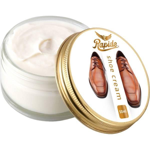 Rapide Schuhcreme für Glattleder - 50 ml farbneutral - Bild 2