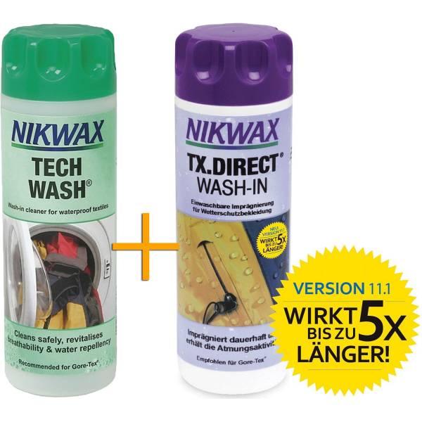 Nikwax Tech Wash + TX.Direct - Vorteilspack - Bild 1
