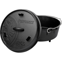 Petromax Feuertopf ft 4.5 mit Füßen - Dutch Oven