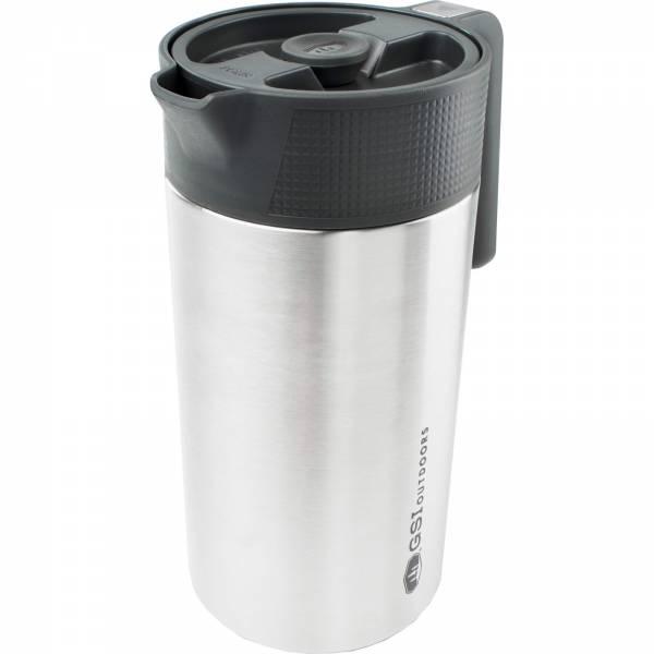 GSI Glacier Stainless® Java Press™ - Kaffee-Kanne mit Filter - Bild 1