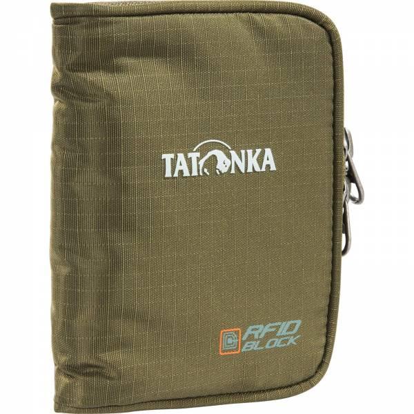Tatonka Zipped Money Box RFID BLOCK - Geldbörse olive - Bild 1