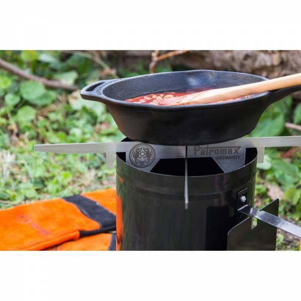 Petromax Feuerstand - Edelstahlaufsatz für Anzündkamin - Bild 5