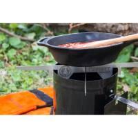 Vorschau: Petromax Feuerstand - Edelstahlaufsatz für Anzündkamin - Bild 5