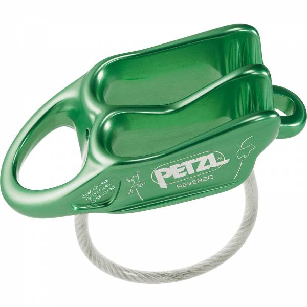 Petzl Reverso - Sicherungs- und Abseilgerät green - Bild 2