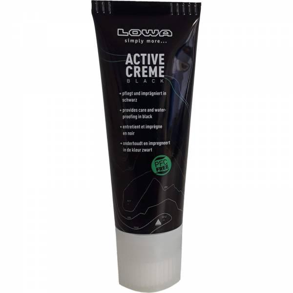 Lowa Active Creme PFC free - Schuhcreme - 75 ml schwarz - Bild 2