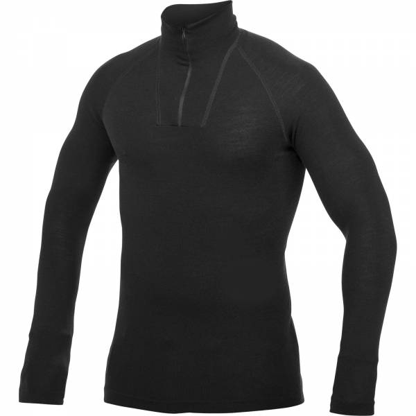 Woolpower Zip Turtleneck Lite black - Bild 1