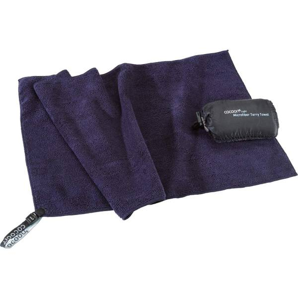 COCOON Terry Towel Light Gr. L - Funktions-Handtuch dolphin grey - Bild 4