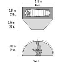 Vorschau: MSR Elixir 1 - Ein-Personen-Zelt - Bild 8