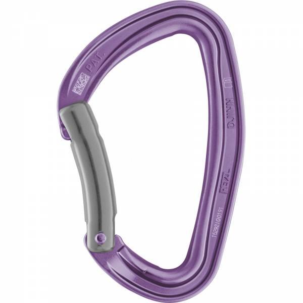 Petzl Djinn - gebogener Schnapper violett - Bild 2