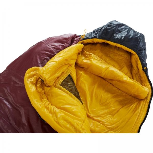 Nordisk Oscar -2° Curve - 3-Jahreszeiten-Schlafsack rio red-mustard yellow-black - Bild 5
