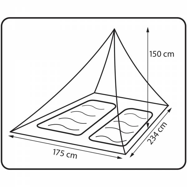360° degrees Insect Net Double - Moskito-Netz - Bild 2