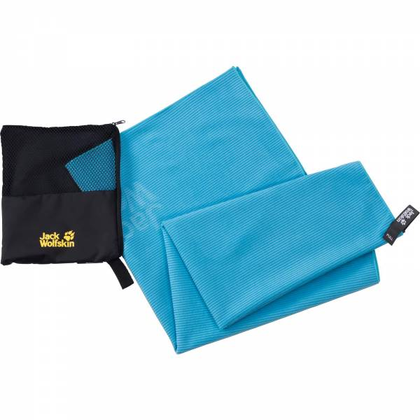 Jack Wolfskin Great Barrier Towel L - Funktionshandtuch turquoise - Bild 1