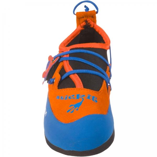La Sportiva Stickit - Kinder-Kletterschuh lily orange-marine blue - Bild 6