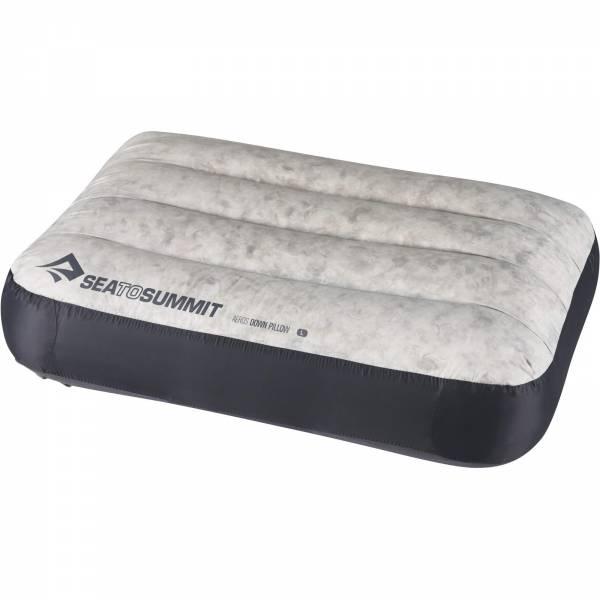 Sea to Summit Aeros Pillow Down Large - Kopfkissen grey - Bild 7