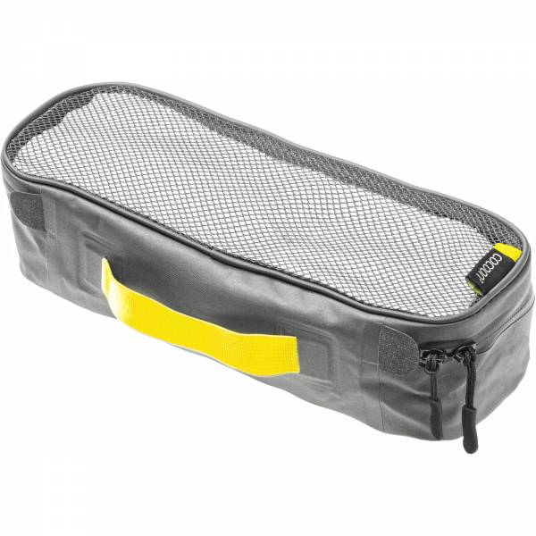 COCOON Packing Cube with Open Net Top S - Packtasche grey-yellow - Bild 6