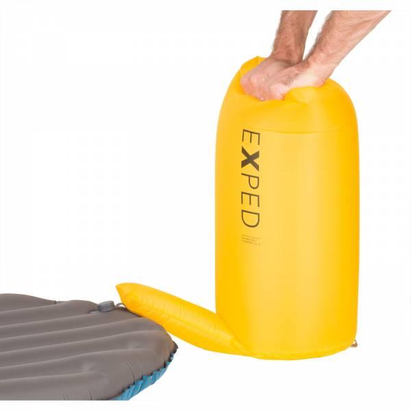 EXPED Schnozzel Pumpbag UL - Pump-Pack-Sack corn yellow - Bild 2
