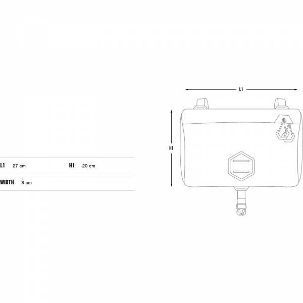 Apidura Expedition Accessory Pocket 4,5 L - Zusatztasche - Bild 3