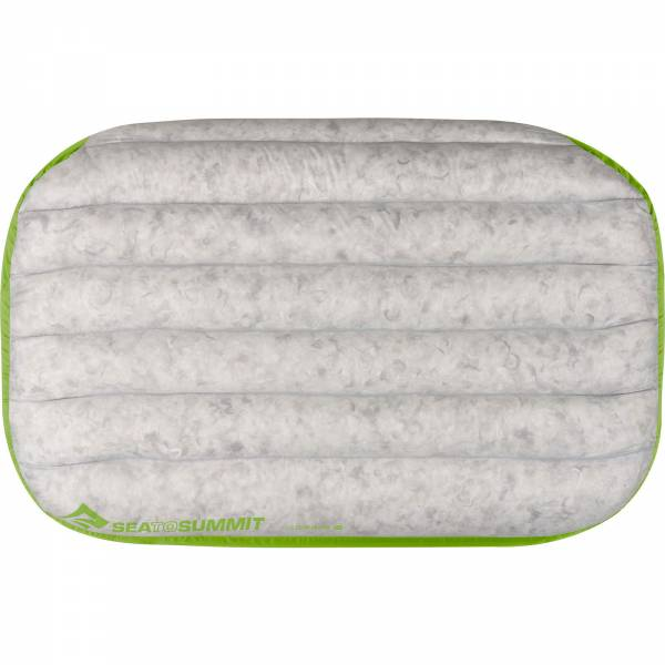 Sea to Summit Aeros Pillow Down Deluxe - Kopfkissen lime - Bild 7