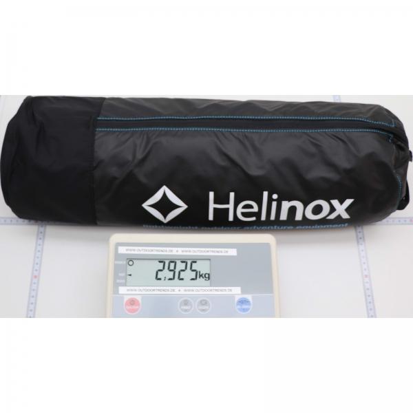 Helinox Cot Max Convertible - Zeltbett black-blue - Bild 4