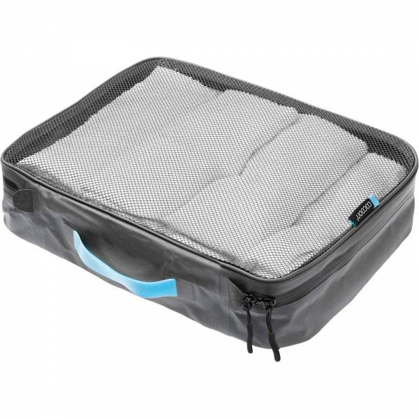 COCOON Packing Cube with Open Net Top L - Packtasche grey-blue - Bild 1